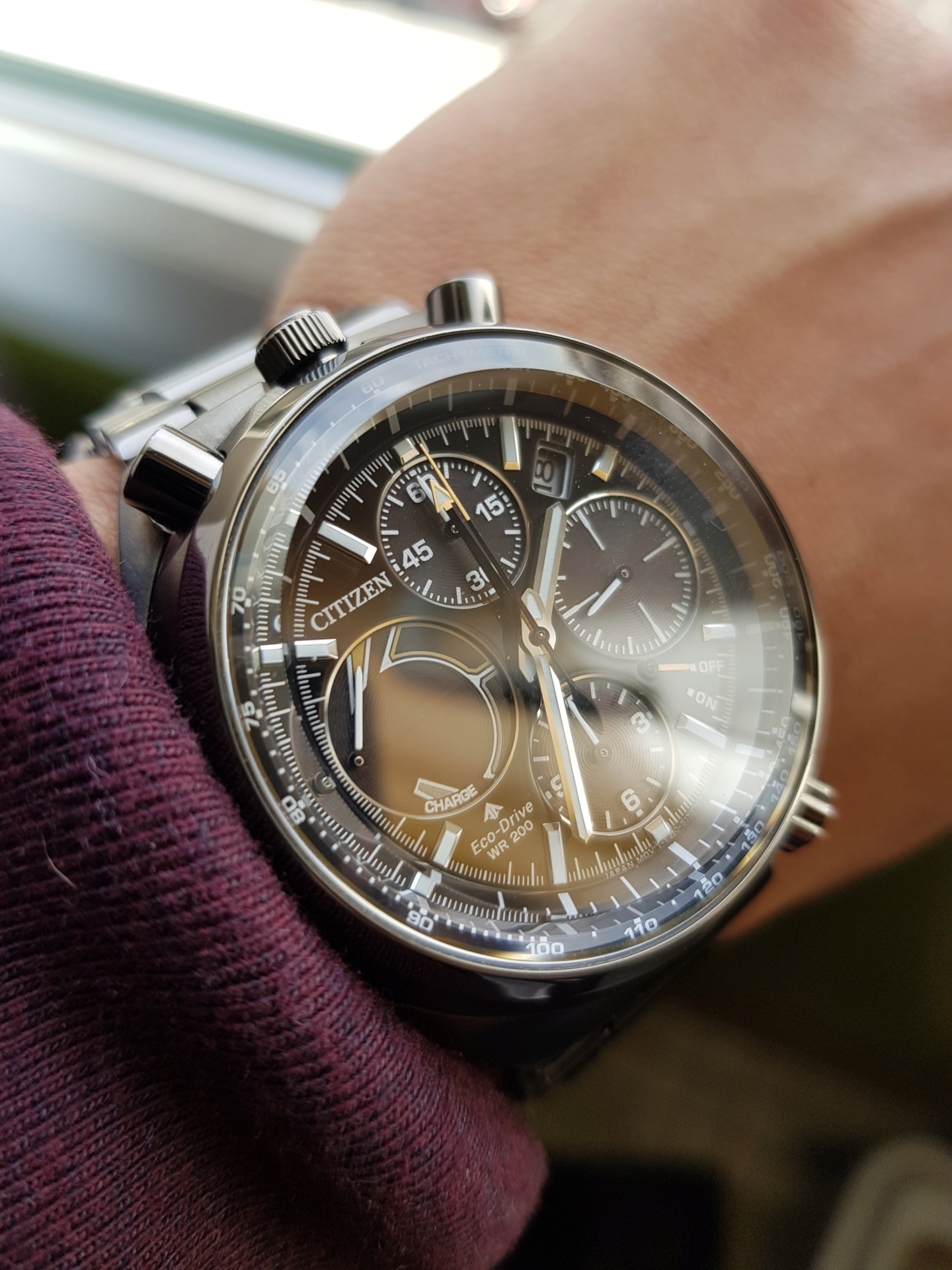 citizen - Présentation : Citizen Promaster Chrono 100th Anniversary 20190115