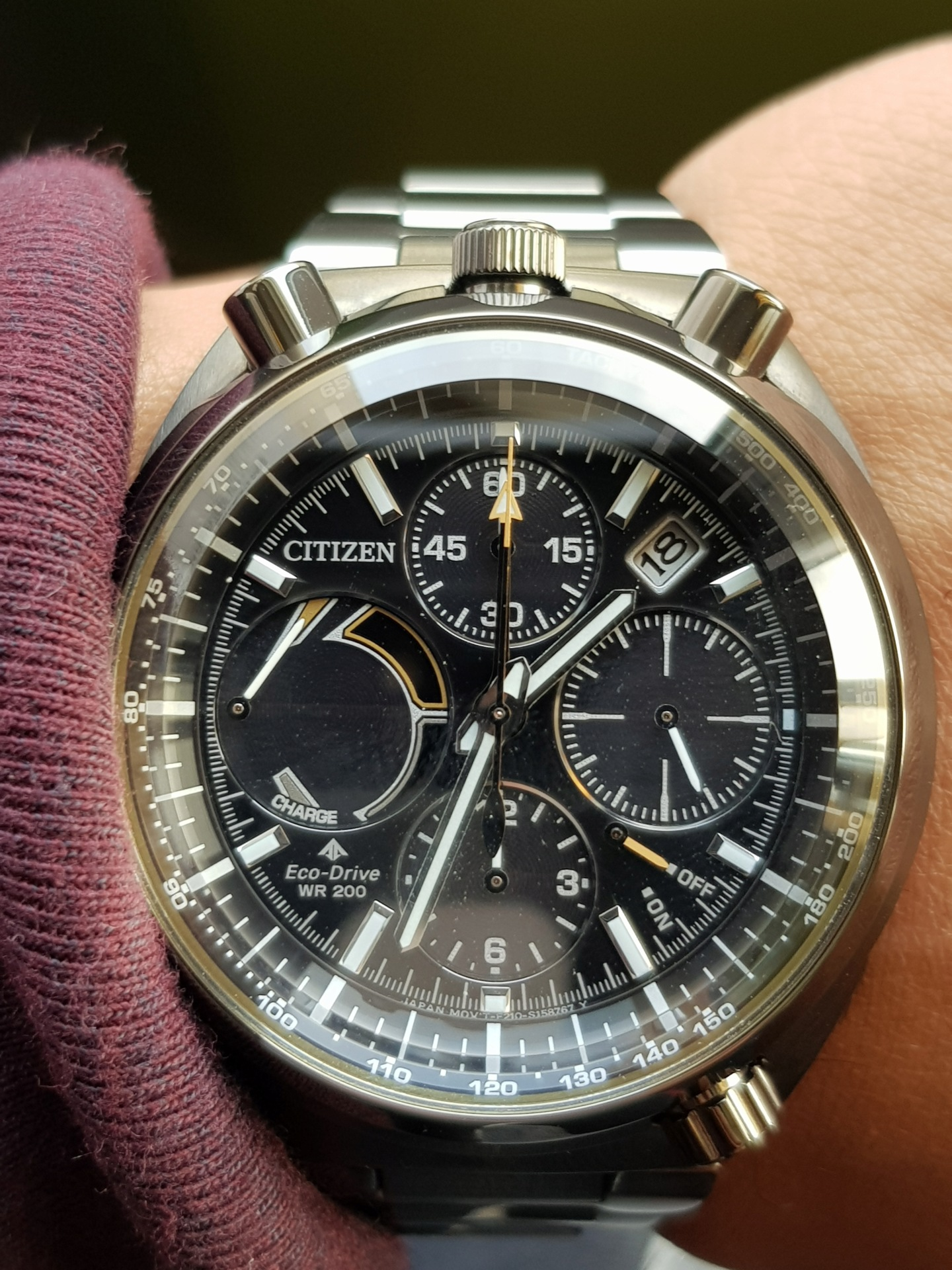 citizen - Présentation : Citizen Promaster Chrono 100th Anniversary 20190120