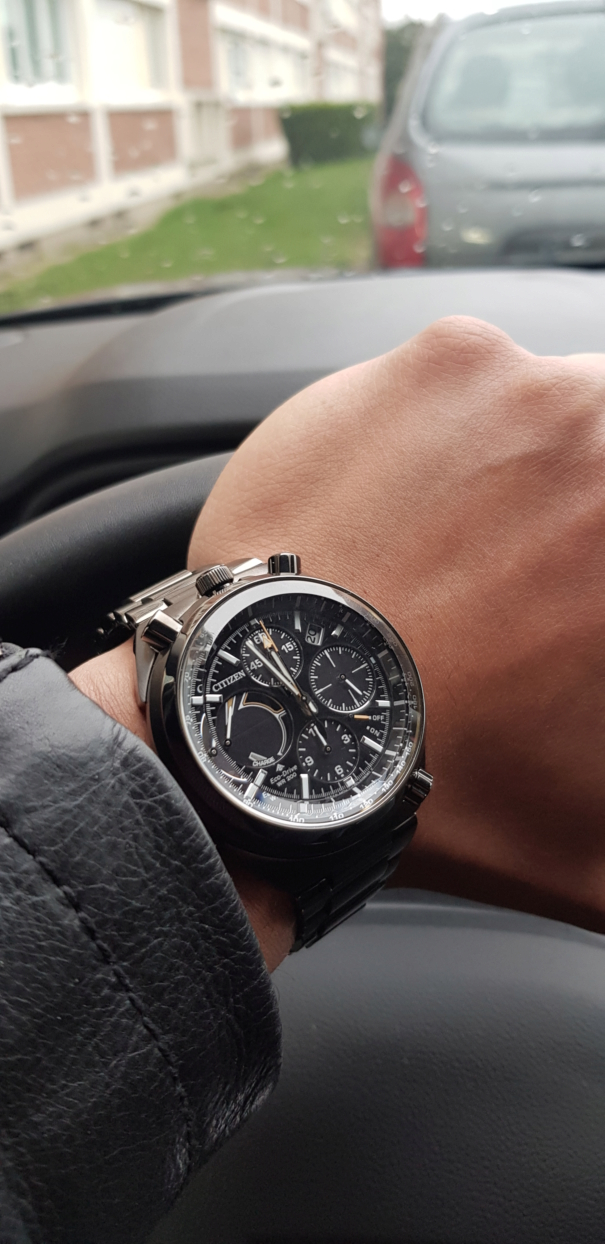citizen - Présentation : Citizen Promaster Chrono 100th Anniversary 20190125