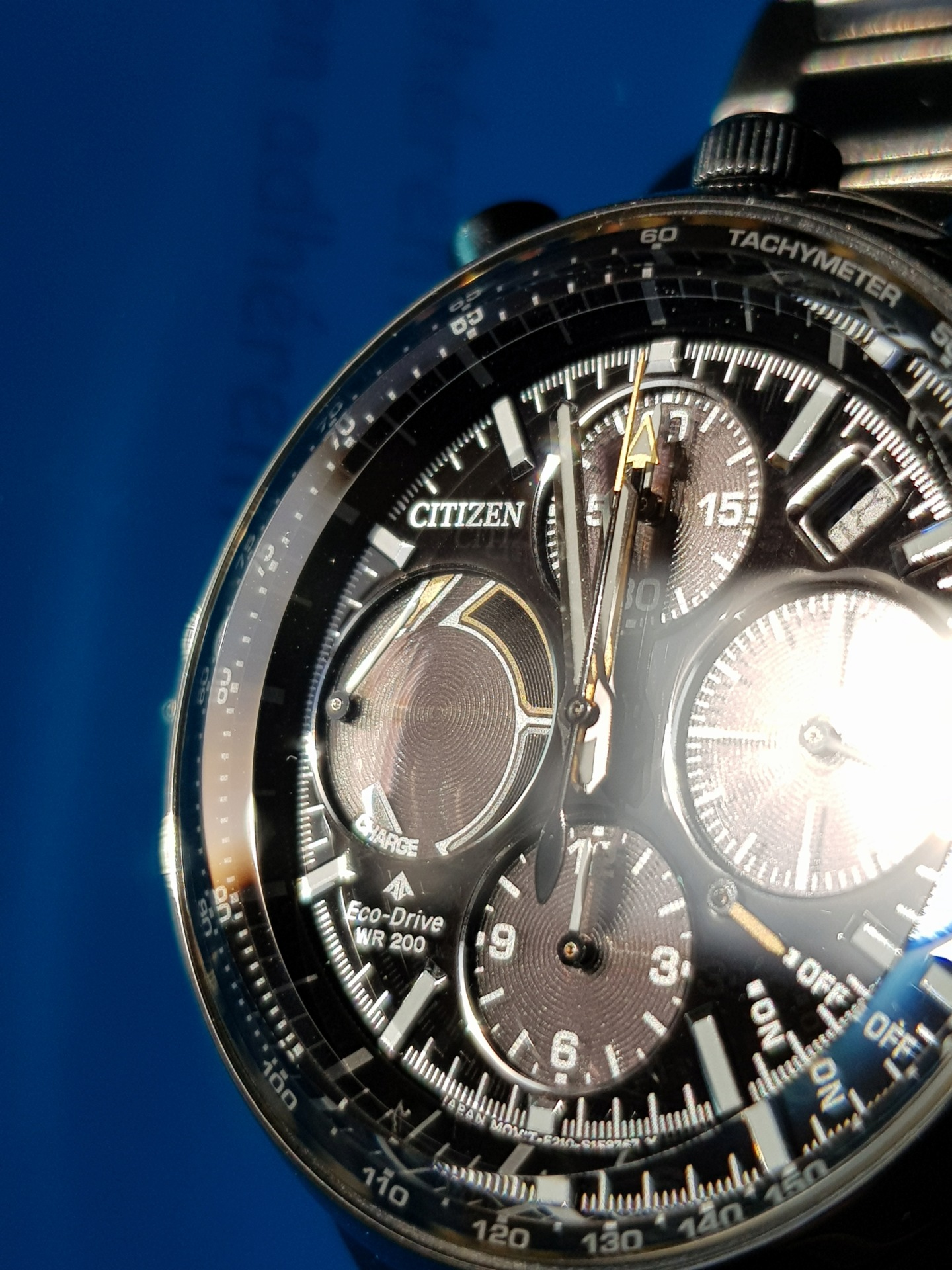 citizen - Présentation : Citizen Promaster Chrono 100th Anniversary 20190127