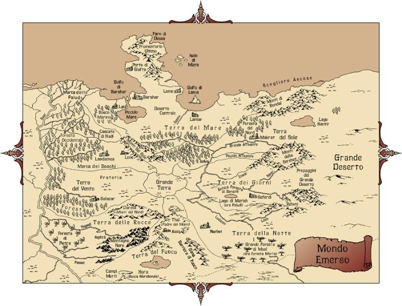 La carte du monde Emergé Mappa_11