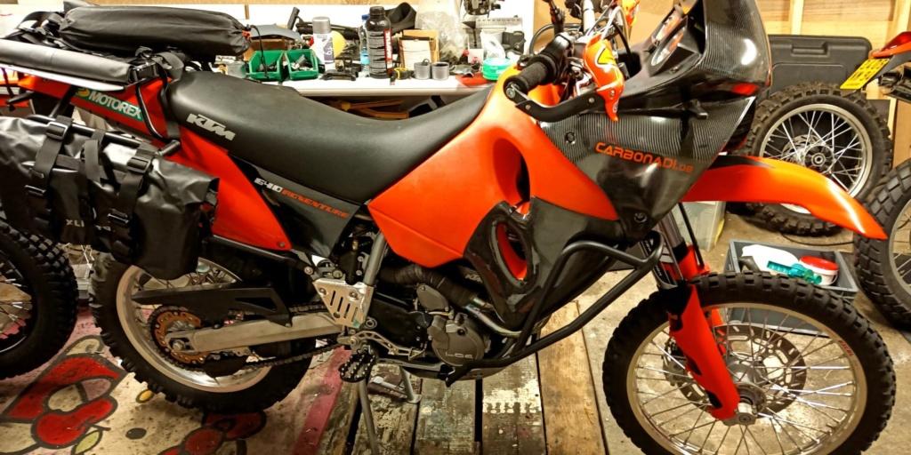 Gain de poids KTM 640 Adventure 10570510