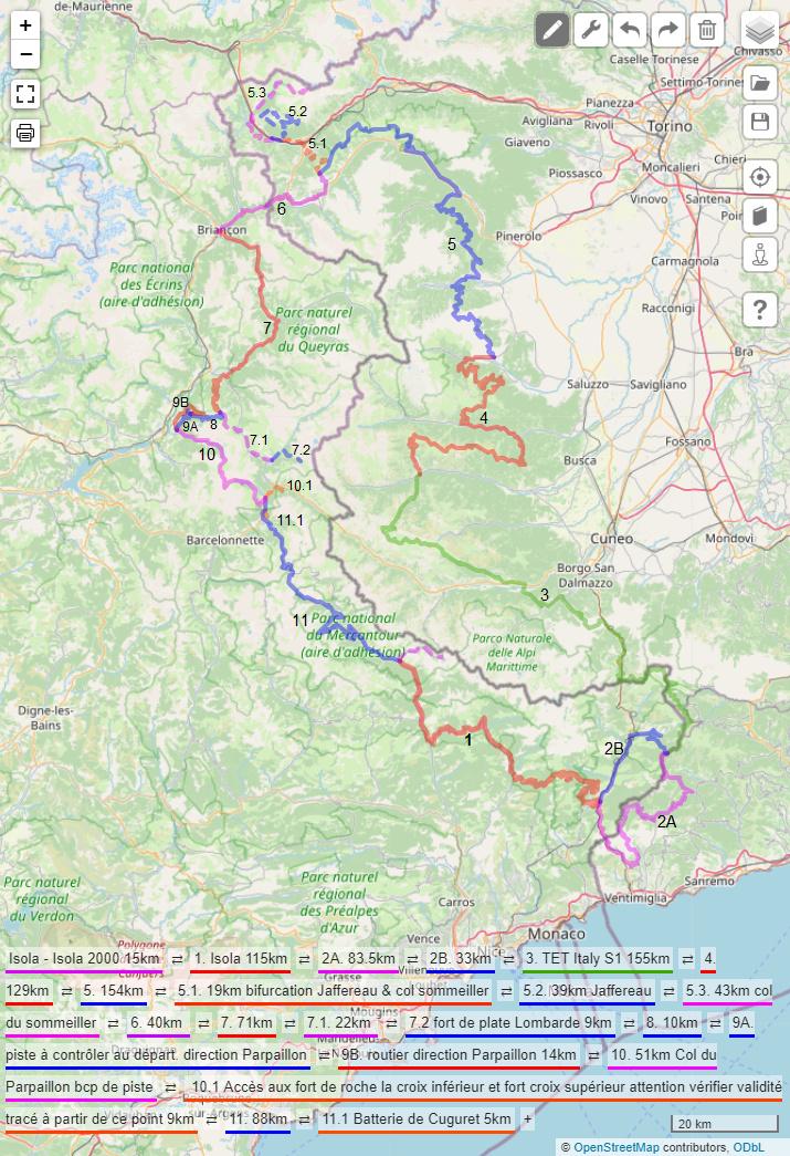 Compte rendu : Voyage début Septembre France / Italie en 2 boucles Boucle11