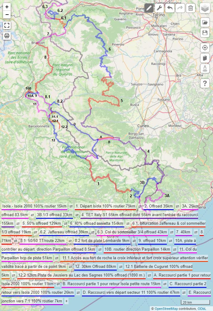 Compte rendu : Voyage début Septembre France / Italie en 2 boucles Carte_10