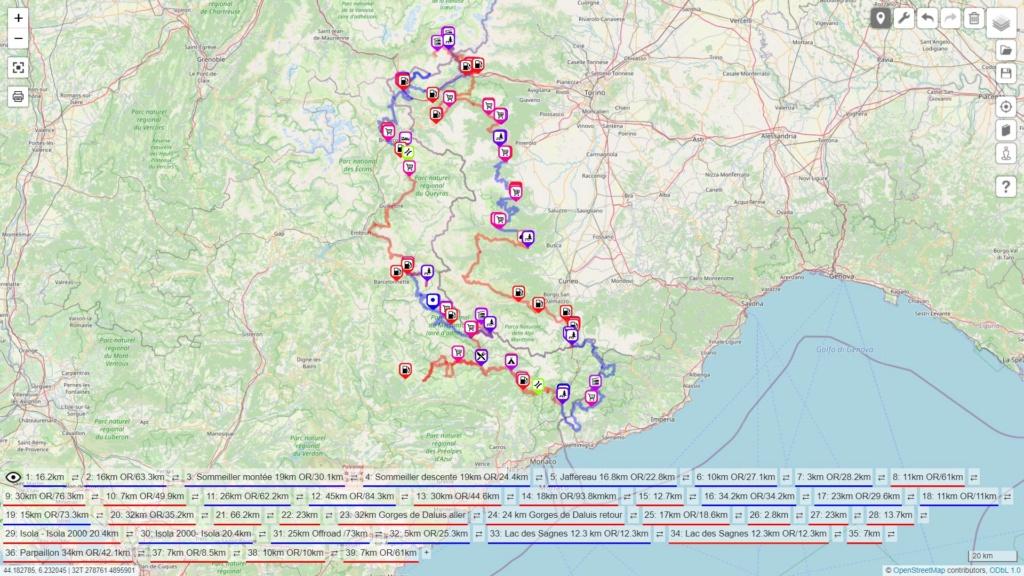 2021 Voyage France / Italie  1 boucle :  GPX DISPONIBLE EN MP !!! Carte_18