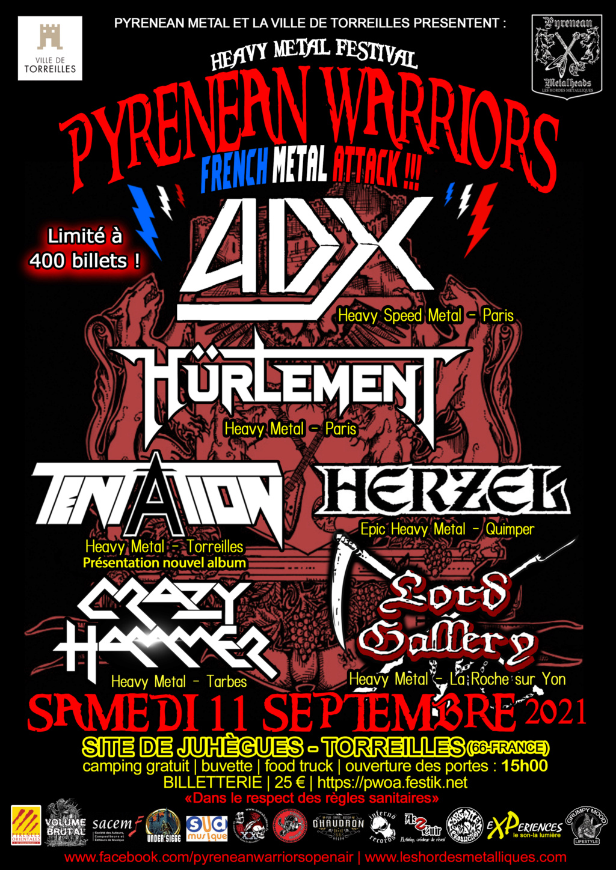 Pyrenean Warriors French Metal attack Mini_p10