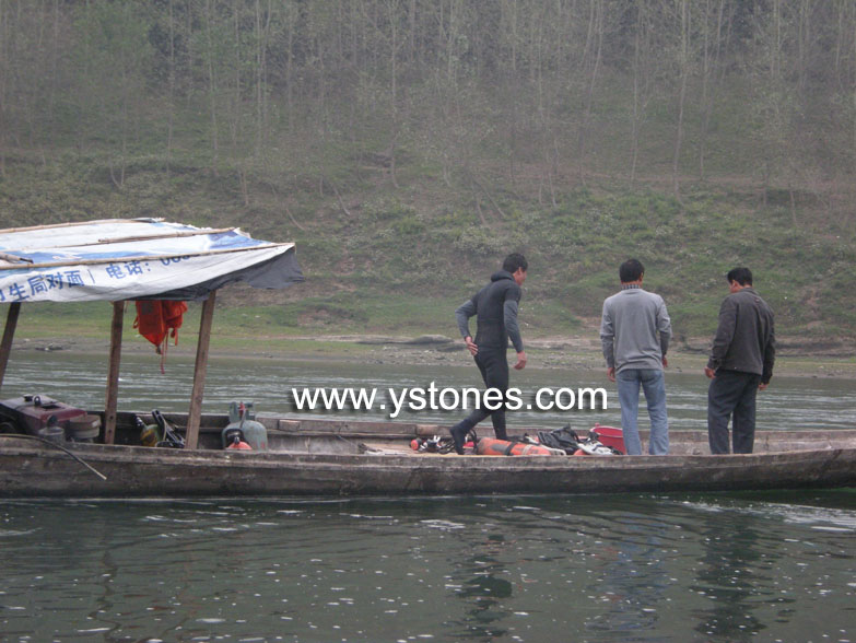 Frog stone and Wujiang River Dscn8512