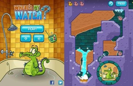 حمل لعبة التمساح والماء لأجهزة الأندرويد والأيفون S34ur110