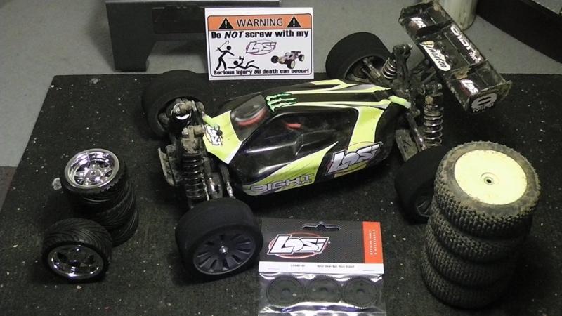 Mini Losi 8ight 1/14 S1090034