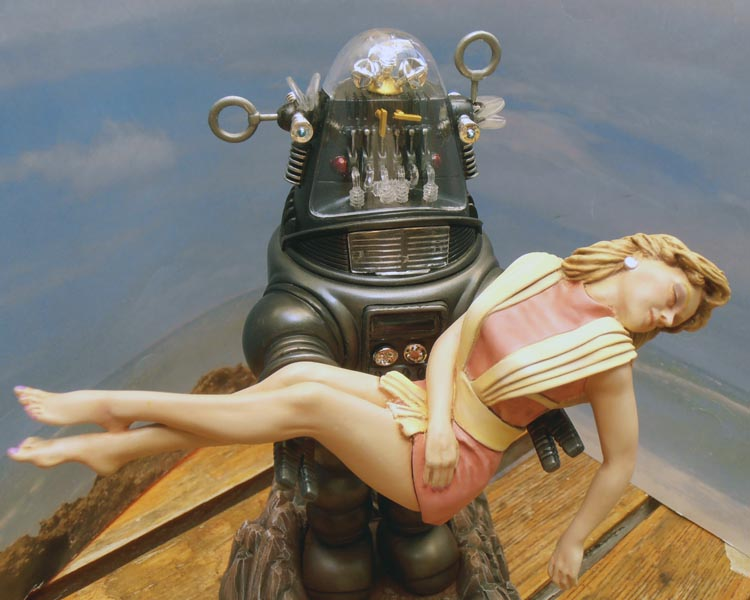 Robby the Robot from 'Forbidden Planet' Ready310