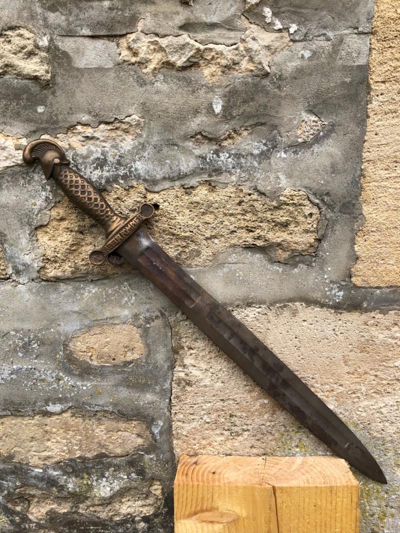 Epee sabre d infanterie mysterieux 15352610