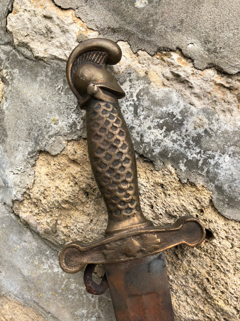 Epee sabre d infanterie mysterieux 15352612