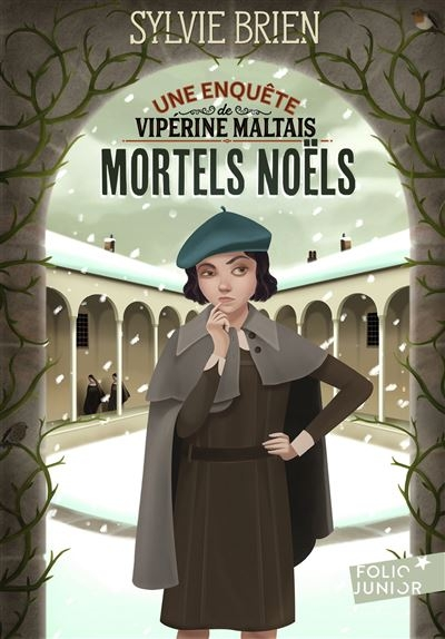 [Brien, Sylvie] Les enquêtes de Vipérine Maltais, tome 1 : Mortels Noëls Couv1110