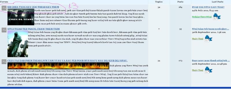 Zoo siab txais tos Muas Tsav Lis Forum712