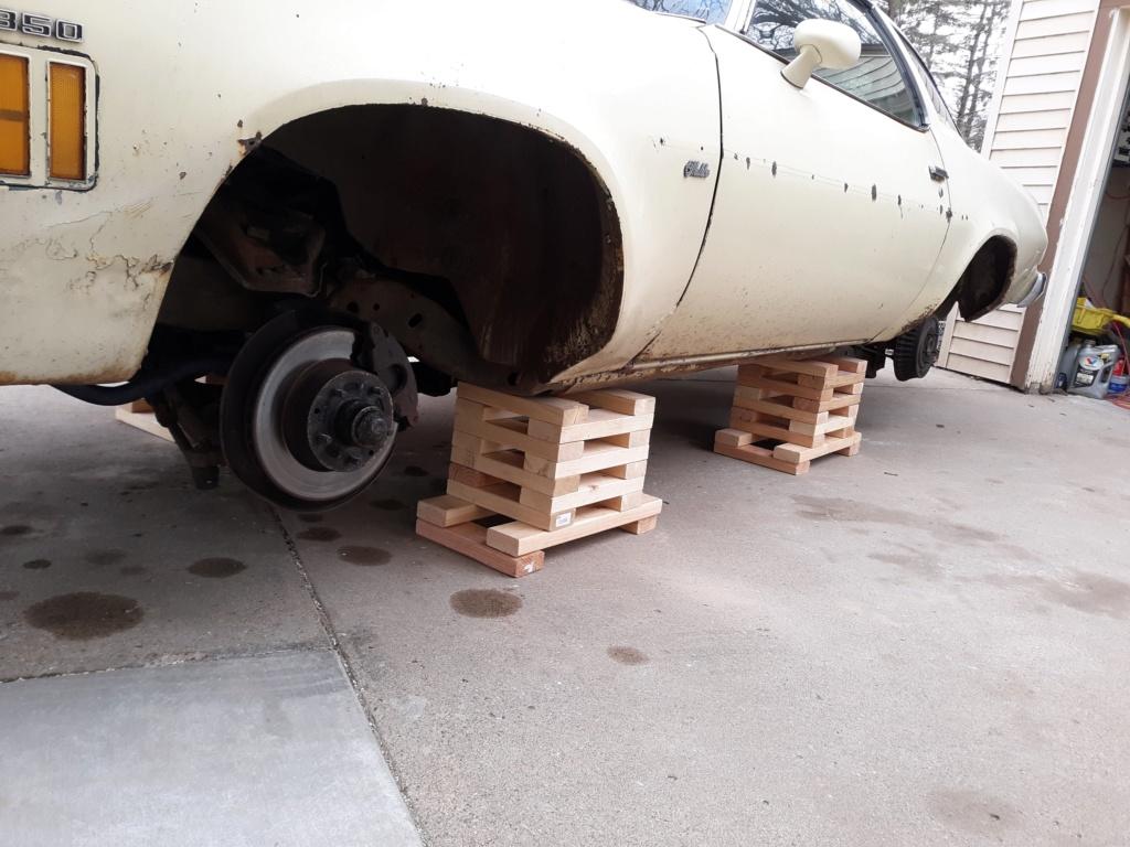 My four wheel disc brake swap. 20200411