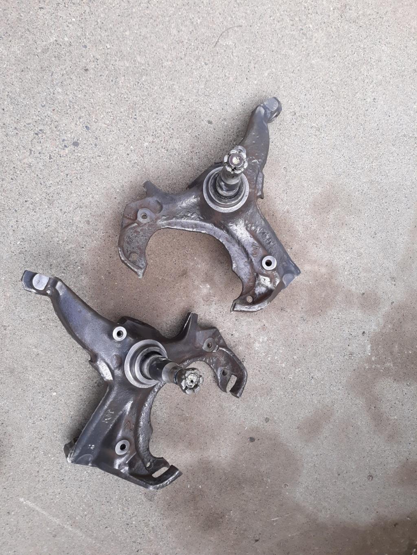 My four wheel disc brake swap. 20200412