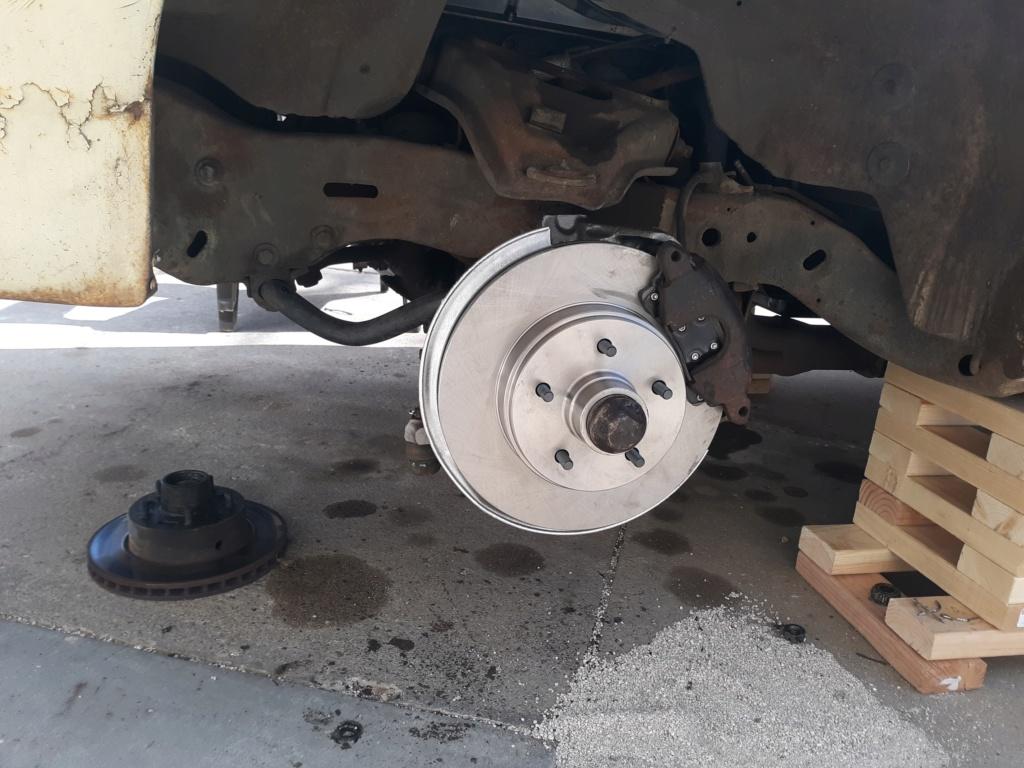 My four wheel disc brake swap. 20200414