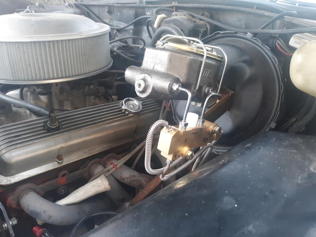 My four wheel disc brake swap. 20200418