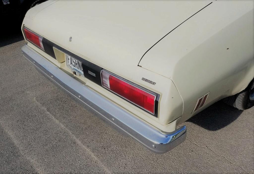 1973 Chevelle SS Rear Bumper 20900712