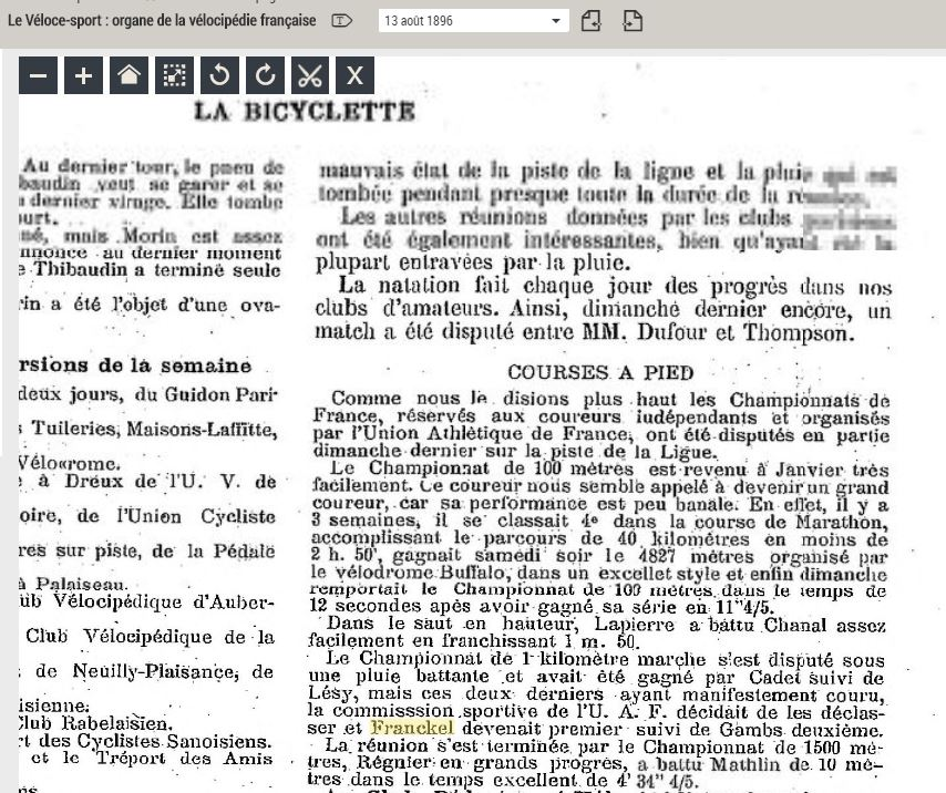 LES CHAMPIONS DE FRANCE MARCHE DE 1893 A 1921 1896_011
