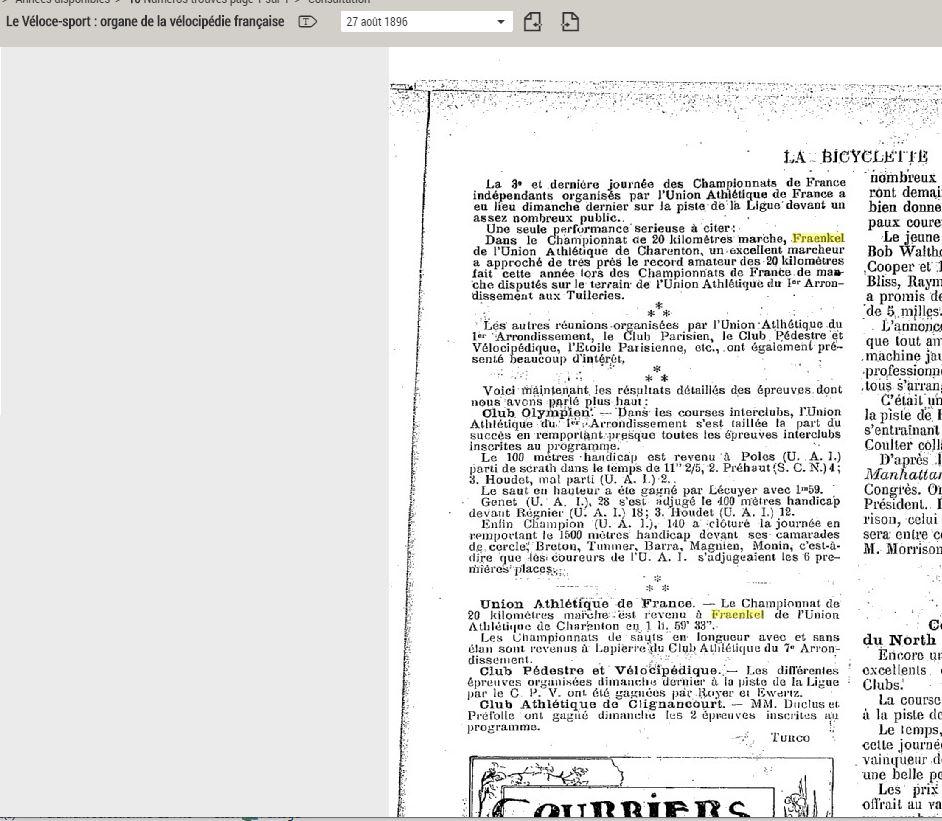 LES CHAMPIONS DE FRANCE MARCHE DE 1893 A 1921 1896_012