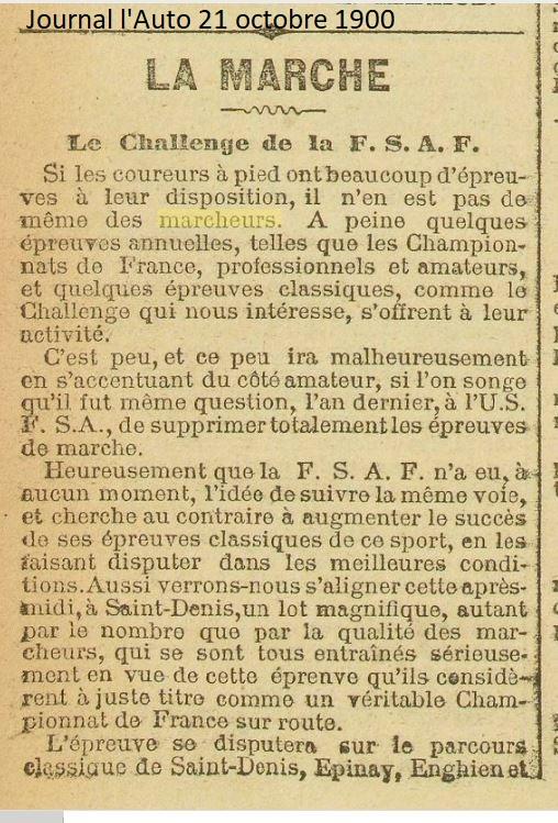 LES CHAMPIONS DE FRANCE MARCHE DE 1893 A 1921 1900_110