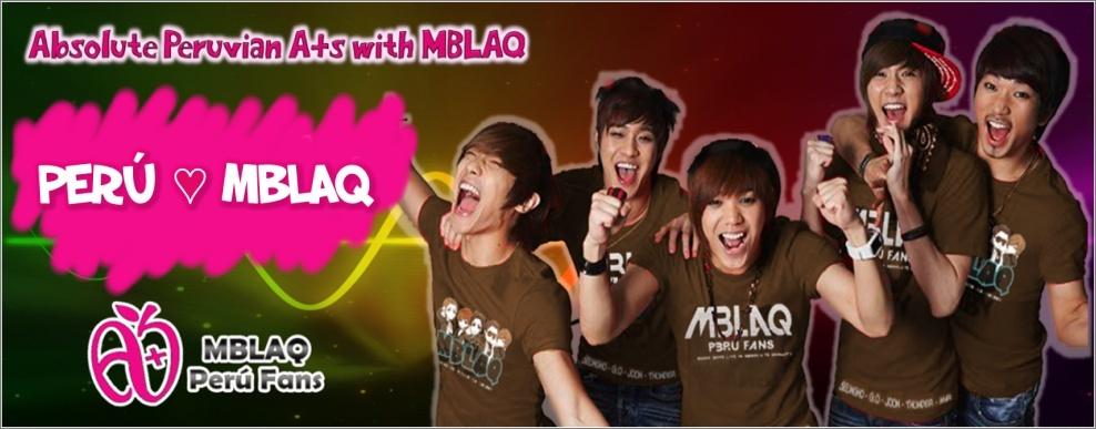 MBLAQ Peru Fans