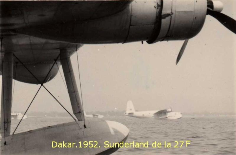 """[Les anciens avions de l'aéro] Hydravion SHORT """"SUNDERLAND"""" An7411"""