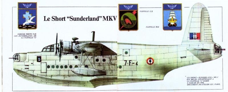 """[Les anciens avions de l'aéro] Hydravion SHORT """"SUNDERLAND"""" Sundel12"""