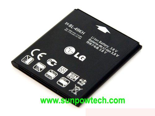 LG Optimus LTE  LU6200 Battery BL-49KH ML-LG138 Bl-49k11