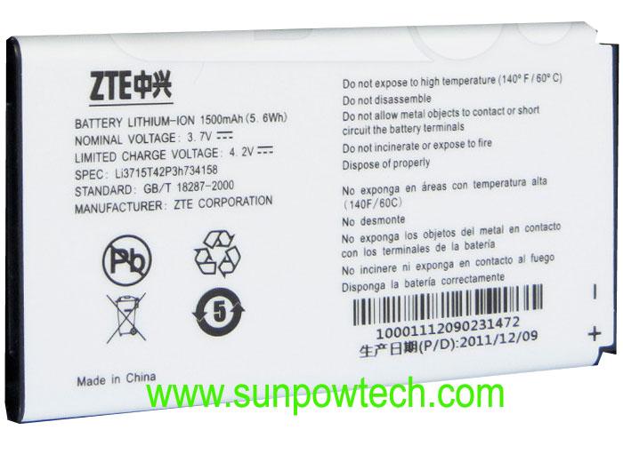 ZTE Score M Battery Li3715T42P3h734158 Score10