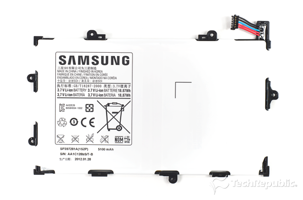 Samsung Galaxy Tab 7.7 Battery SP397281A DR-P6800 Tab10