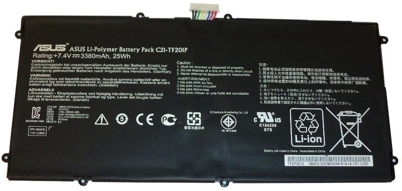 Asus Eee Pad TF201 Battery C21-TF201P Tf201p10