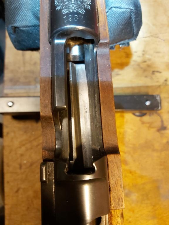 Mauser 98 9,3x62 soucis d'alimentation 20210111
