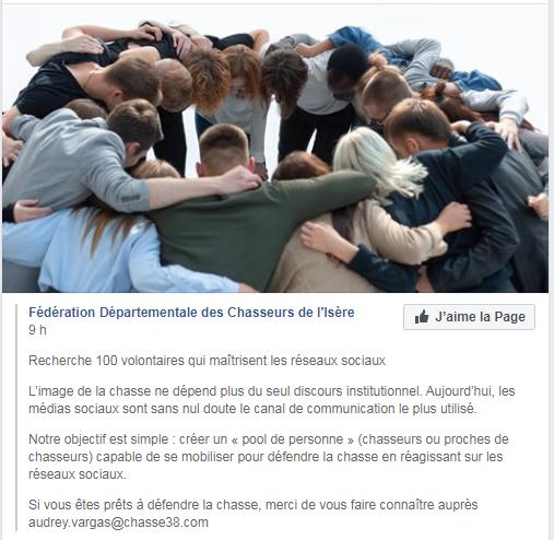 La FDC Isère se mobilise Fdc10