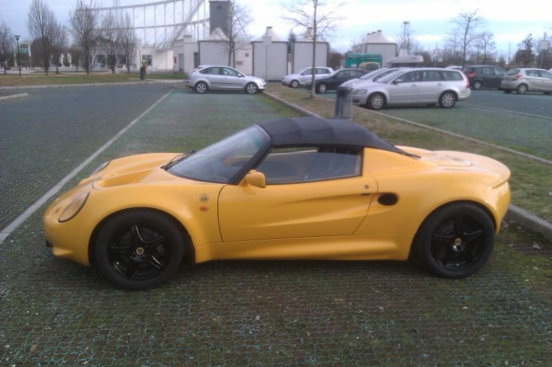La mia Elise S1 gialla Imag0411