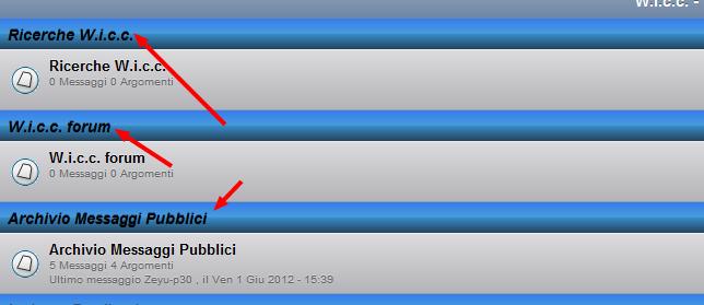 Personalizzare titoli categorie forum nella visualizzazione con il cellulare Catego10