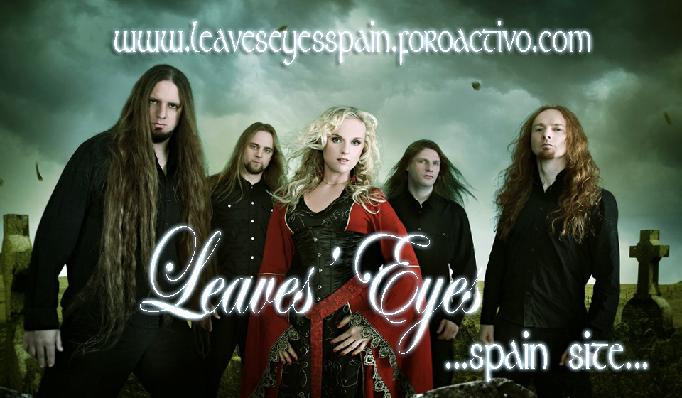 Leaves' Eyes Spain Site