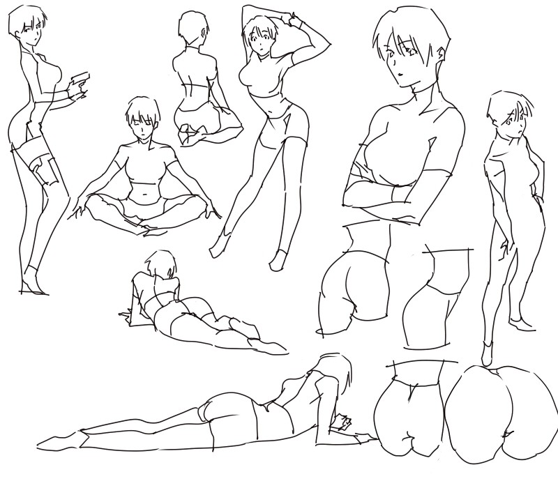 [Tutorial] Postures & Mouvements 12752317