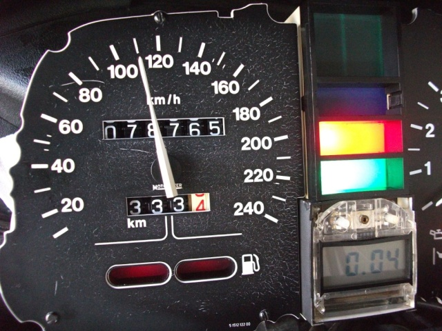 Karamba speedometer calibration program tutorial Dscf2520
