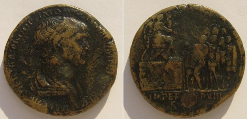Deux sesterces de Marc-Aurèle - Page 2 Trajan10