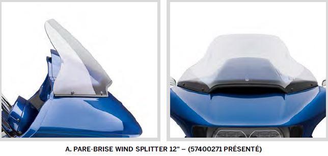 Pare-Brise Wind Slitter pour RG > 2013 Parebr10