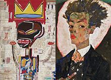 Expo:  Basquiat - Schiele Schiel10