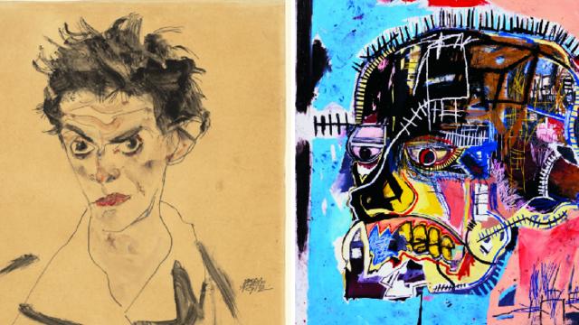 Expo:  Basquiat - Schiele Schiel11