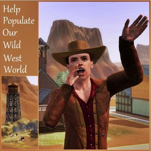 Population for Wild West World. Church12