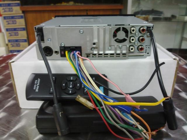 Alpine CDA-9853 Head Unit (Used) 24042011