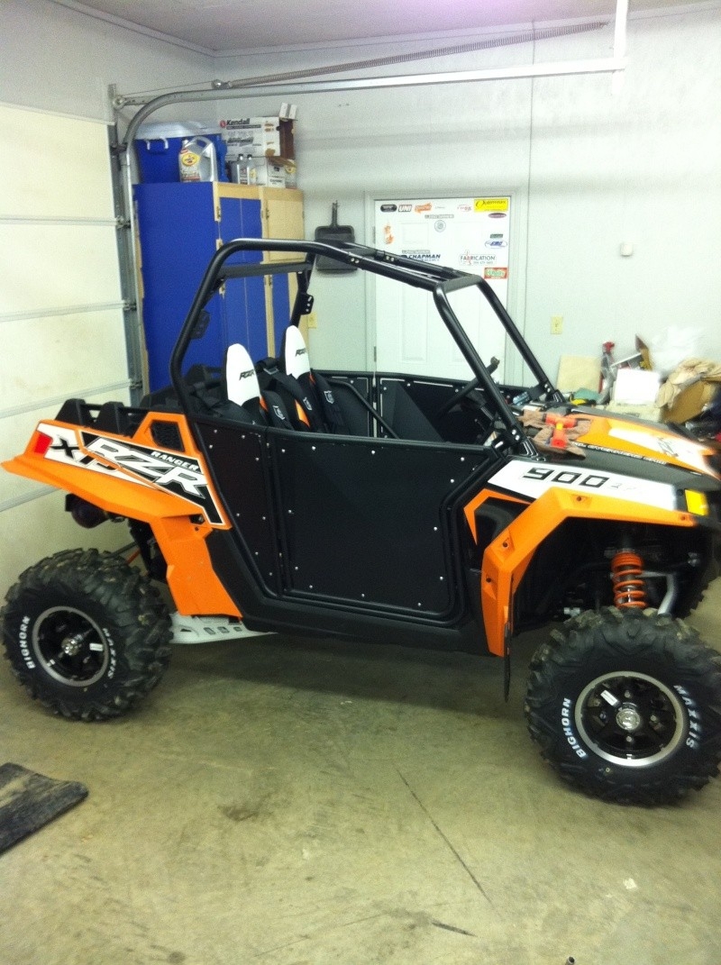 2012 RZR XP Orange Madness Accessories Xpdoor11