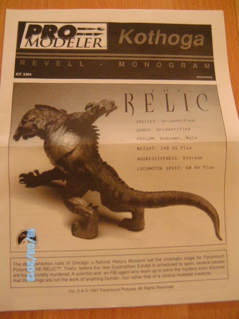 """Kothoga aus """"Das Relikt"""" von Revell/ProModeller von 1997 Pict1811"""