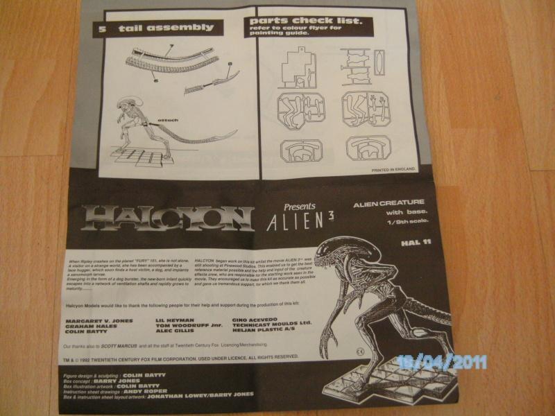 Alien Dogbuster 1:9 Halcyon aus Alien 3 Pict3523