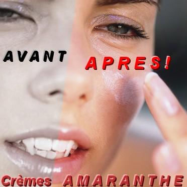 Gamme de Produits de beauté AMARANTHE pour vampires Creme_10